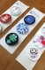 Badges fini soft mat diamètre 32mm