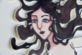 Sirena - marionnette sur papier