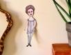'giseda'  - marionnette - pièce originale