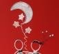 Couple d'amoureux en ficelle et papier, mariage de ficelle et papier, décoration gâteau mariage personnalisable.