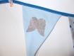 Guirlande de fanions personnalisable au prénom de l'enfant