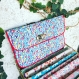 Pochette twist  liberty flamboyant