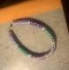 Bracelet perles crocheté