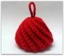 Tawashi rouge - 100% acrylique