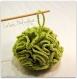 Fleur de douche en coton biologique