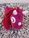 Dino coton oeko-tex fait main crochet