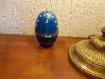 Boîte à bijoux Œuf façon fabergé en porcelaine