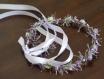 Couronne de fleurs cheveux aux baies