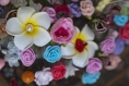 Pic ou épingle à chignon fleuri