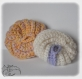 Tawashis - eponges au crochet - ecologiques - lavables en machine - lot de 2