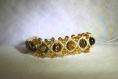 Bracelet macramé brésilien pierre naturelle Œil de tigre