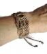 Bracelet tissé oeil de tigre