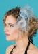 Pince mariage edel bleu glacier et gris en sisal et crin
