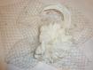 Pince mariage anna voilette blanc