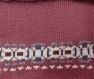 Kit tricot machine - cardigan col v bande jacquard - taille m