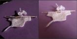 Layette miniature pour scrapbooking,carterie,vitrine