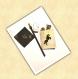 Kit papeterie thème licorne noir et or