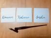 Marque place | mariage | evènement | calligraphie | invitation | personnalisation