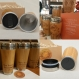 Personalized wood travel mug    e=mc2   customized gift full design engraved bamboo car desk coffee tea cup stainless steel
