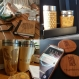 Personalized wood gifts travel mugs with custom engraved designs