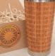 Notes wood gift travel mug tumbler fully engraved custom design