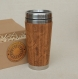 Desire wood gift travel mug full engraved custom design