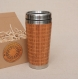 Notes wood gift travel mug tumbler fully engraved custom design
