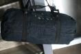 Sac de voyage en jean recyclé