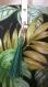 Cabas en toile épaisse motif jungle