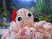 Pieuvre peluche crochet / oceane la pieuvre