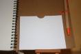 Cahier  pour recettes papier marron