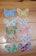 Applique papillon patchwork