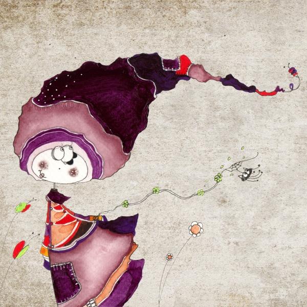 Le grand courant d'air : illustrations-dessins par laetitiapercheron