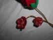 Fleurs colorées à piquer