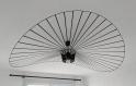 Lustre suspension filaire noire inspiré de vertigo – diamètre 140 cm