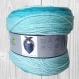La laine trendy colors bleu, blanc