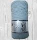 Thick-quick, fil en cotonbleu gris