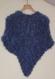 Magnifique chale bleu
