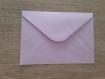 Carte et enveloppe disney la petite sirène
