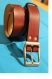 ceinture en cuir marron