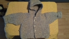 Manteau à capuche 24 mois
