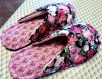 Chaussons mules femme