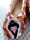 Chaussons femme kimono