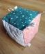 Cube d'activité - tissus certifiés oeko-tex