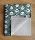 Couverture bébé / tapis de jeu - tissus certifiés oeko-tex