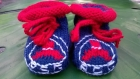 Chaussons pour petits supporters en herbe