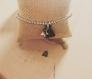 Bracelet perles avec mini pendentif