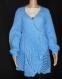 Gilet en laine bleu taille 42/44