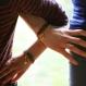 Le lot de 2 bracelets etoile