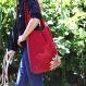 Le sac réversible fleurs